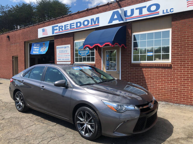 2016 Toyota Camry for sale at FREEDOM AUTO LLC in Wilkesboro NC