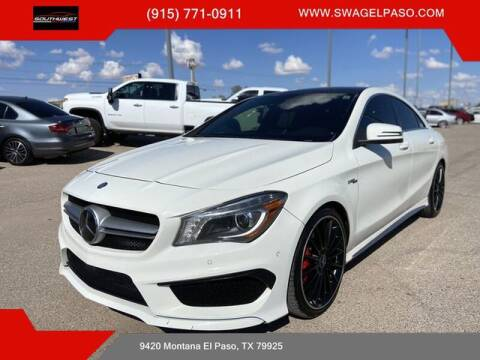 2014 Mercedes-Benz CLA for sale at SOUTHWEST AUTO GROUP-EL PASO in El Paso TX
