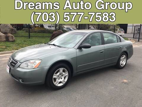 2004 Nissan Altima for sale at Dreams Auto Group LLC in Sterling VA