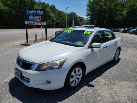 2009 Honda Accord for sale at Let's Go Auto in Florence SC