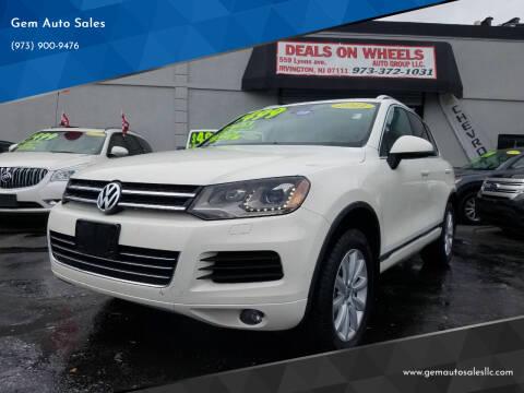 2011 Volkswagen Touareg for sale at Gem Auto Sales in Irvington NJ