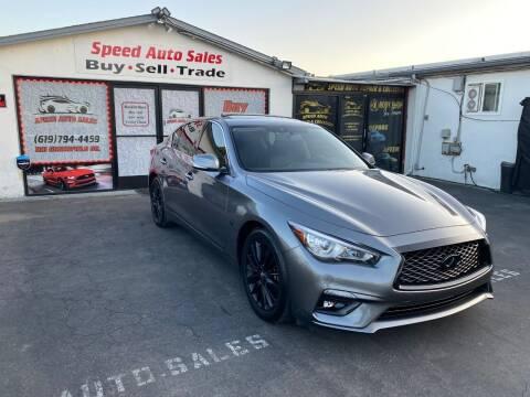 2018 Infiniti Q50 for sale at Speed Auto Sales in El Cajon CA