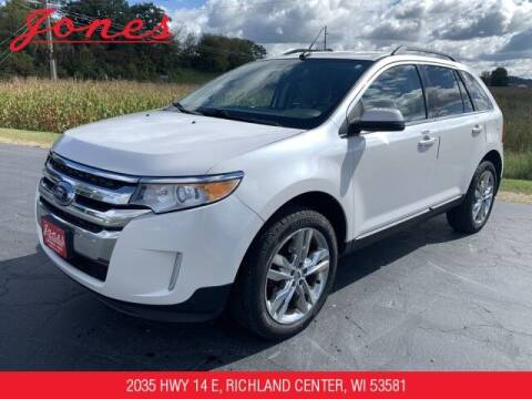 2013 Ford Edge for sale at Jones Chevrolet Buick Cadillac in Richland Center WI
