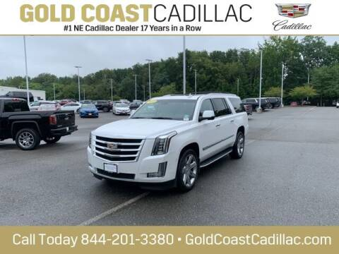 2017 Cadillac Escalade ESV for sale at Gold Coast Cadillac in Oakhurst NJ