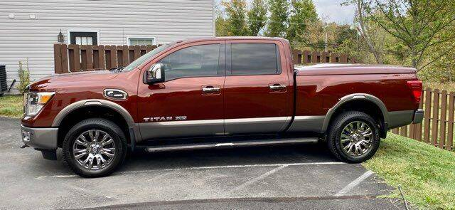 2016 Nissan Titan XD for sale at Dulles Motorsports in Dulles VA