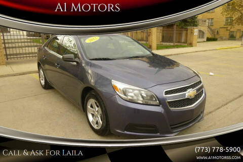2013 Chevrolet Malibu for sale at A1 Motors Inc in Chicago IL