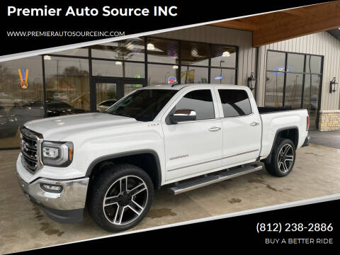 2018 GMC Sierra 1500 for sale at Premier Auto Source INC in Terre Haute IN