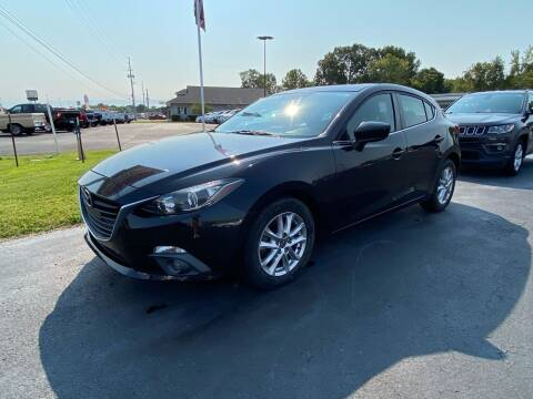 2015 Mazda MAZDA3 for sale at McCully's Automotive in Benton KY