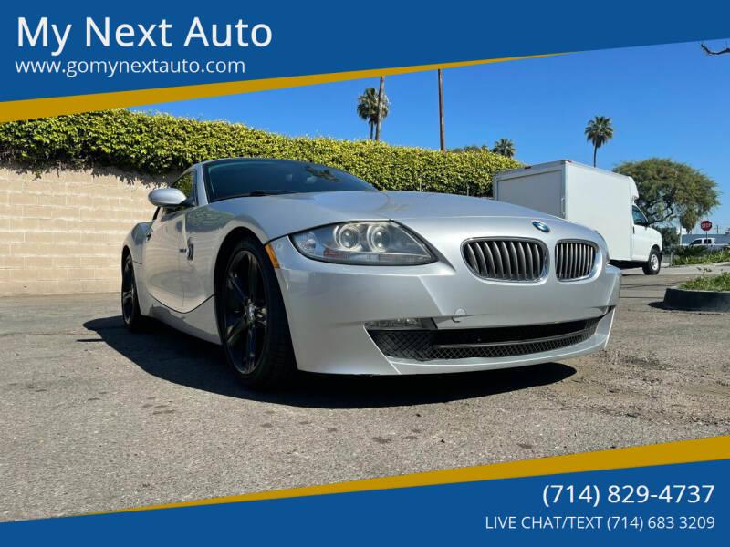 2008 BMW Z4 for sale at My Next Auto in Anaheim CA
