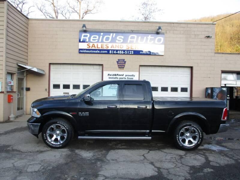 2016 RAM Ram Pickup 1500 for sale at Reid's Auto Sales & Service in Emporium PA