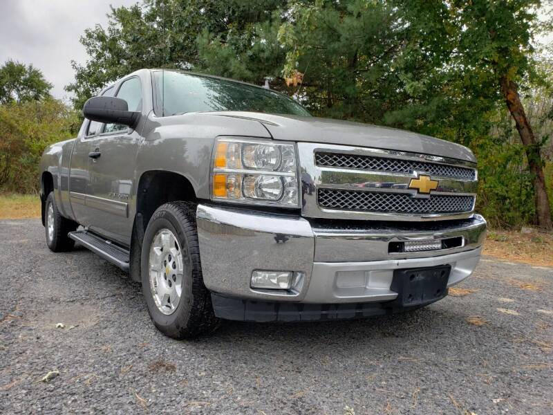 2012 Chevrolet Silverado 1500 for sale at Jacob's Auto Sales Inc in West Bridgewater MA