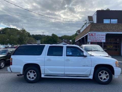2004 GMC Yukon XL for sale at TNT Auto Sales in Bangor PA
