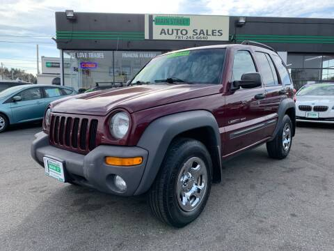 2003 Jeep Liberty for sale at Wakefield Auto Sales of Main Street Inc. in Wakefield MA