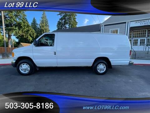 2006 Ford E-Series Cargo for sale at LOT 99 LLC in Milwaukie OR