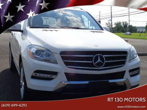 2012 Mercedes-Benz M-Class for sale at RT 130 Motors in Burlington NJ