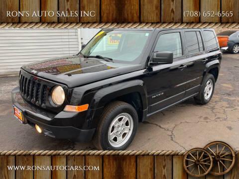 2015 Jeep Patriot for sale at RON'S AUTO SALES INC in Cicero IL