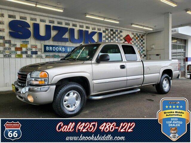 2003 GMC Sierra 1500 for sale at BROOKS BIDDLE AUTOMOTIVE in Bothell WA