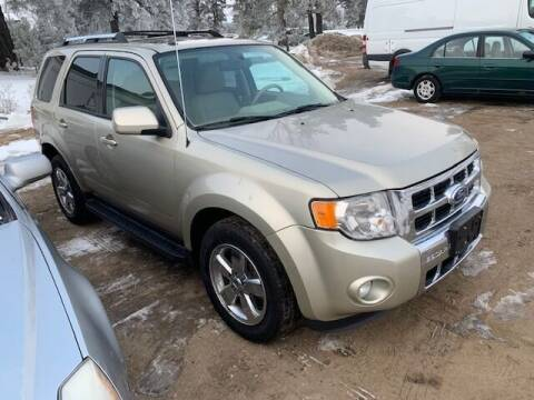 2012 Ford Escape for sale at Four Boys Motorsports in Wadena MN