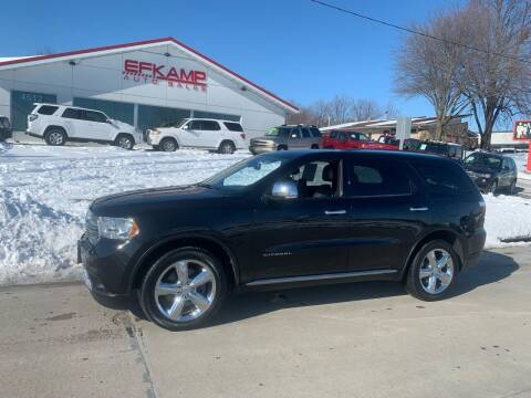 2012 Dodge Durango for sale at Efkamp Auto Sales LLC in Des Moines IA