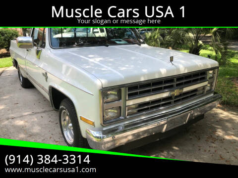 1986 Chevrolet C/K 10 Series for sale at Muscle Cars USA 1 in Murrells Inlet SC