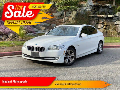2013 BMW 5 Series for sale at Mudarri Motorsports in Kirkland WA