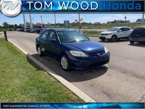 2005 Honda Civic for sale at Tom Wood Honda in Anderson IN