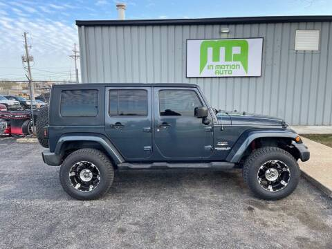 2008 Jeep Wrangler Unlimited for sale at In Motion Sales LLC in Olathe KS
