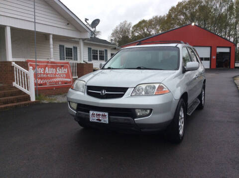 2003 Acura MDX for sale at Ace Auto Sales - $1500 DOWN PAYMENTS in Fyffe AL