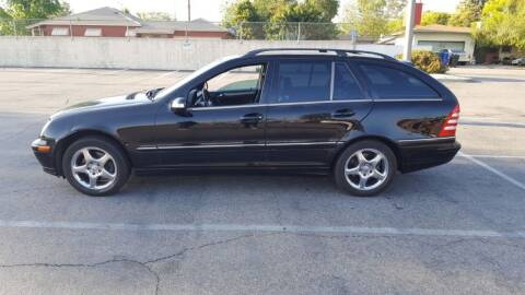 2002 Mercedes-Benz C-Class for sale at RN AUTO GROUP in San Bernardino CA