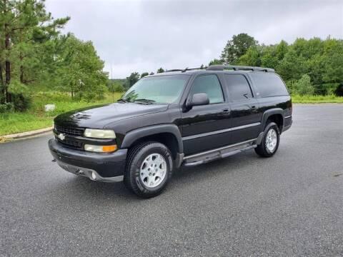 2003 Chevrolet Suburban for sale at Apex Autos Inc. in Fredericksburg VA