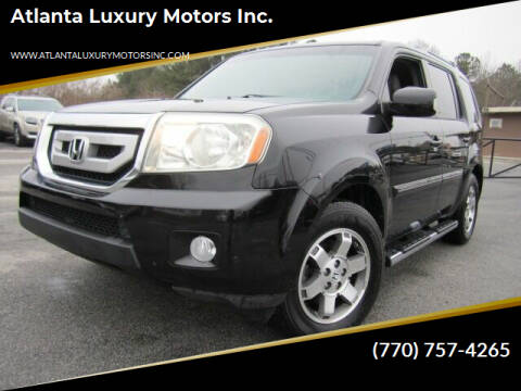 2010 Honda Pilot for sale at Atlanta Luxury Motors Inc. in Buford GA