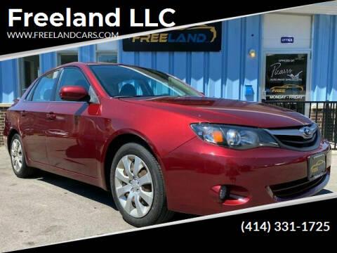 2010 Subaru Impreza for sale at Freeland LLC in Waukesha WI