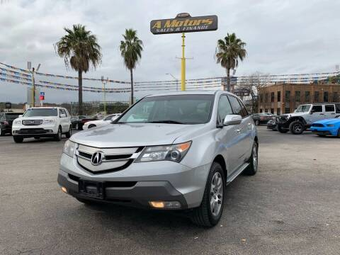 2008 Acura MDX for sale at A MOTORS SALES AND FINANCE in San Antonio TX