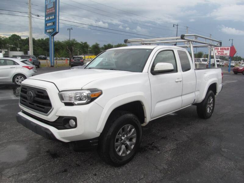 2018 Toyota Tacoma for sale at Blue Book Cars in Sanford FL
