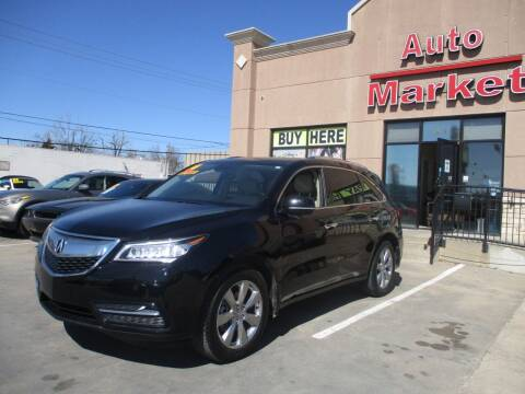 2014 Acura MDX for sale at Auto Market in Oklahoma City OK