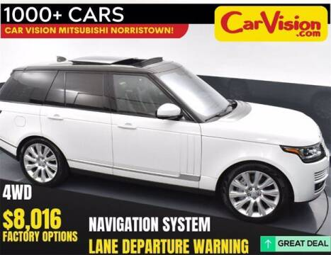 2017 Land Rover Range Rover for sale at Car Vision Buying Center in Norristown PA