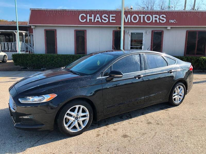 2015 Ford Fusion for sale at Chase Motors Inc in Stafford TX