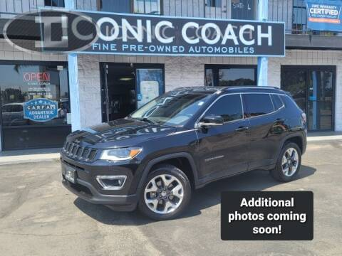 2018 Jeep Compass for sale at Iconic Coach in San Diego CA