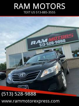 2011 Toyota Camry for sale at RAM MOTORS in Cincinnati OH