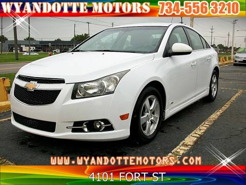 2011 Chevrolet Cruze for sale at Wyandotte Motors in Wyandotte MI