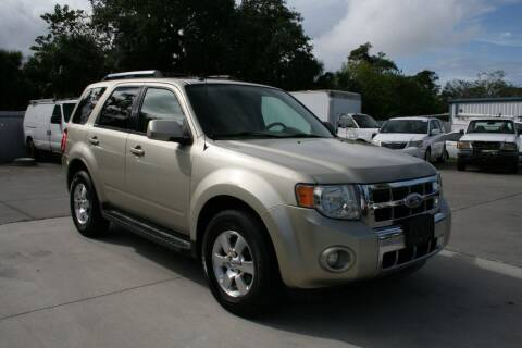 2011 Ford Escape for sale at Mike's Trucks & Cars in Port Orange FL