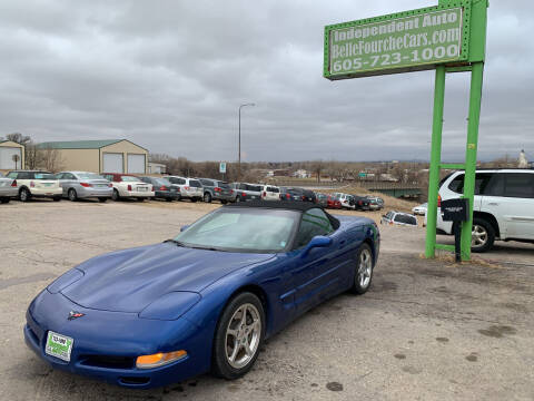 2002 Chevrolet Corvette for sale at Independent Auto in Belle Fourche SD