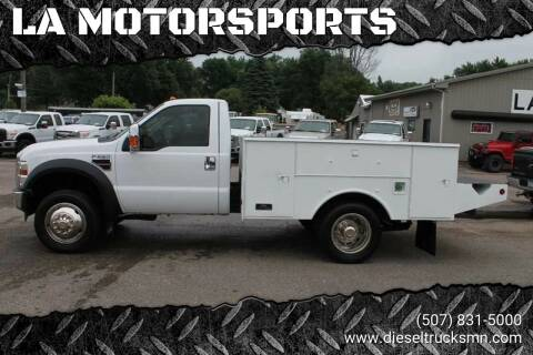 2009 Ford F-550 Super Duty for sale at LA MOTORSPORTS in Windom MN