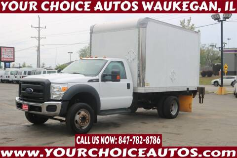 2016 Ford F-550 Super Duty for sale at Your Choice Autos - Waukegan in Waukegan IL