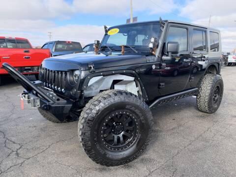 2008 Jeep Wrangler Unlimited for sale at Superior Auto Mall of Chenoa in Chenoa IL