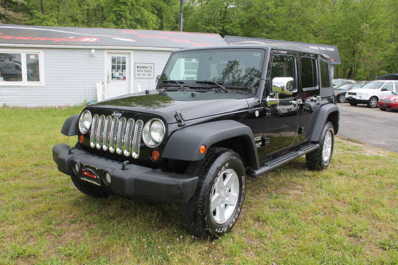 2010 Jeep Wrangler Unlimited for sale at Manny's Auto Sales in Winslow NJ