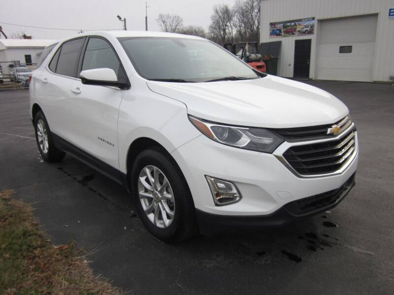 2019 Chevrolet Equinox for sale at JANSEN'S AUTO SALES MIDWEST TOPPERS & ACCESSORIES in Effingham IL