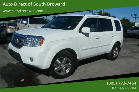 2011 Honda Pilot for sale at Auto Direct of South Broward in Miramar FL