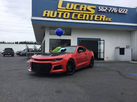 2017 Chevrolet Camaro for sale at Lucas Auto Center in South Gate CA