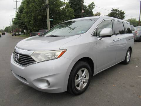 2013 Nissan Quest for sale at PRESTIGE IMPORT AUTO SALES in Morrisville PA